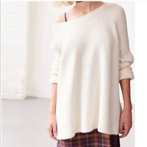urban Outfitters BDG oversized cream sweater